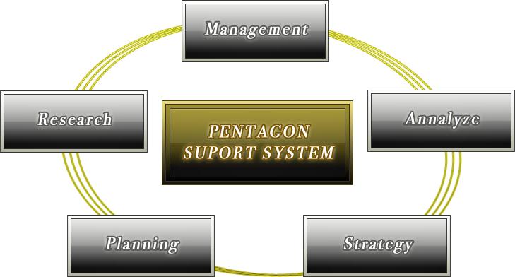 ペンタゴン・サポートシステム フロー